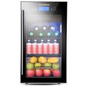 紅酒櫃SOENCHIY/雙爵冰吧冰箱冷藏櫃紅酒櫃恒溫家用茶葉客廳小型SJ-98  LX HOME 新品