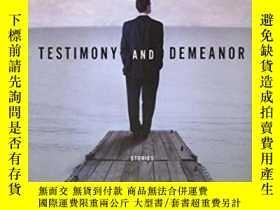 二手書博民逛書店Testimony罕見And DemeanorY364682 Casey, John Random House