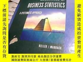 二手書博民逛書店ESSENTIALS罕見OF BUSINESS STATISTI