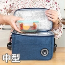 中型簡約多功能可側背保溫袋/保冷袋/便當袋/野餐袋