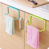 廚房用品 櫥櫃門背式掛架 垃圾袋掛架  【KFS155】123ok