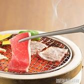日本進口株式會社吉川烤肉夾子日式家用燒烤夾不銹鋼牛排夾食品夾
