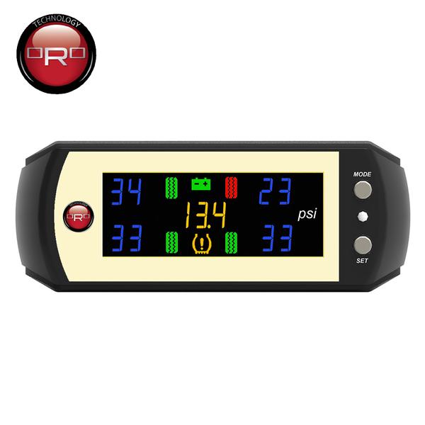 【真黃金眼】ORO W410-A 自動定位 通用型胎壓偵測器(橡膠氣嘴)