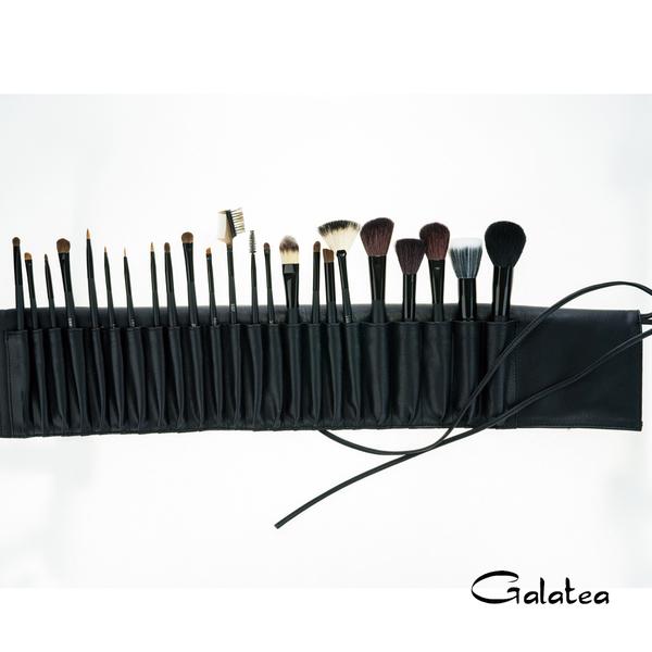 Galatea葛拉蒂鑽顏系列 長柄黑原木23支裝專業刷具組