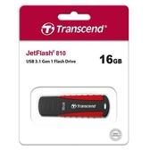 Transcend 創見 JetFlash 810 16GB 隨身碟 軍規抗震碟