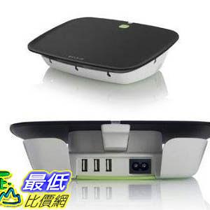 [103美國直購] 110V- 240V 自動節能開關 Belkin Conserve Valet with Energy-Saving USB Charging Station (f7c008)