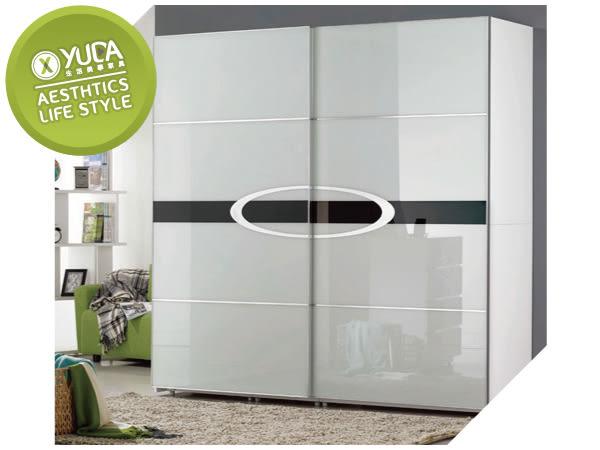衣櫃【YUDA】天使 白色 烤漆 九宮格抽屜 7*7尺 衣櫃/衣櫥 J8F 061-1