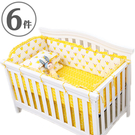 嬰兒床圍六件組 寶寶寢具用品床組 JB1...