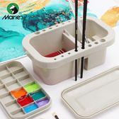 馬利牌美術洗筆桶水桶多功能涮筆筒學生大號顏料水粉繪畫水彩畫 星河光年