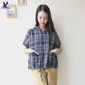 American Bluedeer - 格紋襯衫外套(魅力價) 春夏新款