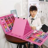 兒童畫畫筆繪畫套裝小學生水彩筆學習文具美術用品女孩生日禮物盒igo      琉璃美衣