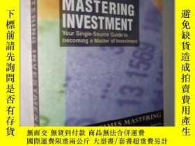 二手書博民逛書店英文原版罕見Mastering Investment by Ja