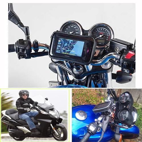 kawasaki sym iphone 8 gogoro三陽川崎機車衛星導航摩托車衛星導航機車把手把龍頭鎖具支架機車架子