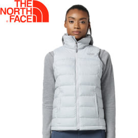 【The North Face 女款 700fP 羽絨背心《淺灰》】3651DYX/保暖背心/內搭背心★滿額送