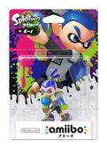 Wii U 漆彈大作戰 近距離無線連線 NFC 連動人偶玩具 amiibo 藍男孩 SPLATOON 【玩樂小熊】