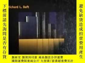 二手書博民逛書店ORGANIZATION罕見THEORY AND DESIGN(
