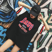 (DS-1431)棒球服短袖t恤女夏寬鬆韓版學生休閒短T