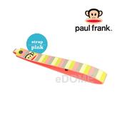 PAUL FRANK 大嘴猴 SH08 粉紅條紋 寬版手腕帶 (3期0利率 免運 湧蓮公司貨) 微單眼/小DC相機用 13PF-SH08