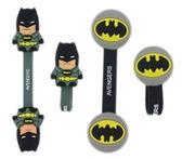 【卡漫城】 蝙蝠俠 標誌 捲線器 2入一組 ~ Batman 鈕扣式 隨身耳機 MP3 集線器 DC漫畫 正義聯盟