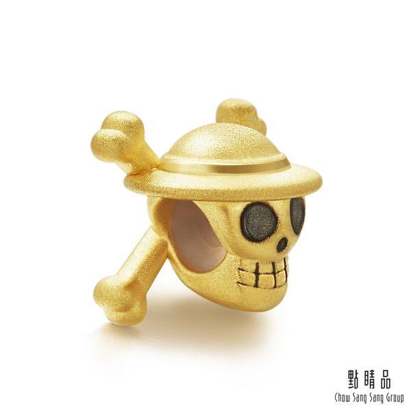 點睛品 Charme 航海王One-Piece草帽海賊旗 黃金串珠