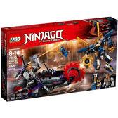 【LEGO 樂高積木】NINJAGO 旋風忍者系列 - 奇羅對決武士 X LT-70642