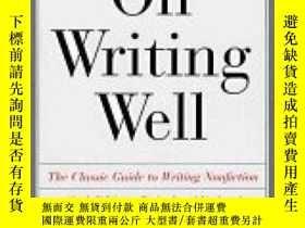 二手書博民逛書店On罕見Writing Well : An Informal G