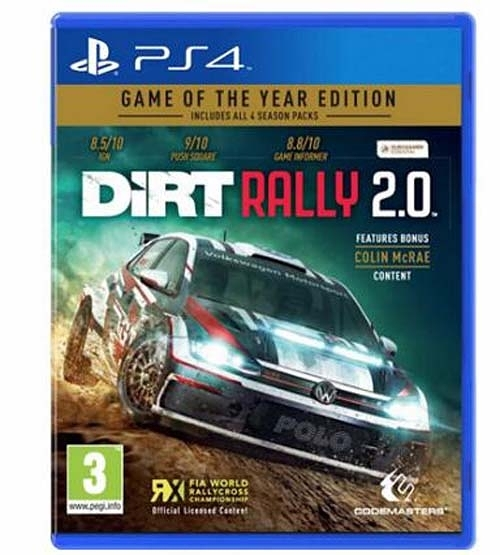 PS4 DIRT RALLY 2.0 大地長征 拉力賽 2.0 年度合輯版 英文版 【現貨】