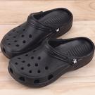 男女款 牛頭牌 NewBuffalo MIT製造涼拖兩穿式 布希鞋 洞洞鞋 園丁鞋 拖鞋 涼鞋 黑色 59鞋廊