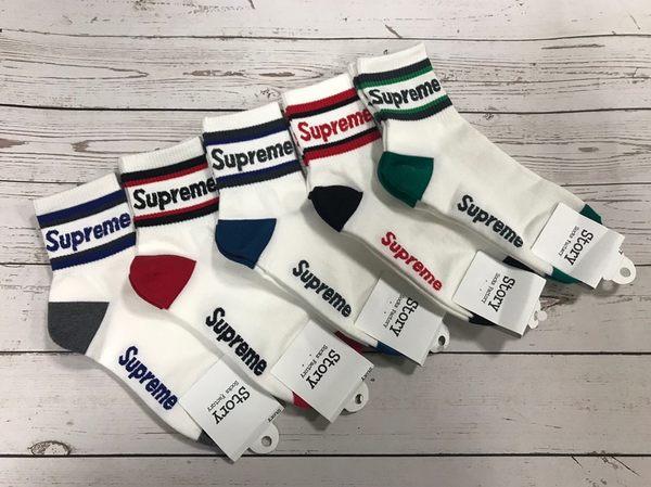 韓國襪子 進口襪 SUPREME 原宿風 港風 帥氣襪