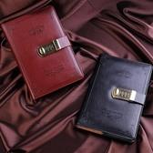 復古密碼本帶鎖日記本筆記本文具學生記事本手帳聖誕禮物辦公新品【快速出貨】