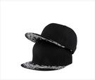 FIND 韓國品牌棒球帽 男 街頭潮流 黑色民族風圖案 歐美風 嘻哈帽  街舞帽