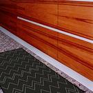 范登伯格 爵士★單色系亞麻地毯-樂夜(黑)60x110cm
