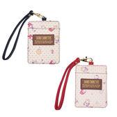 【KP】三麗鷗 角色點點皮質票卡夾 皮質 吊環 證件套 正版日本進口授權 DTT0522251