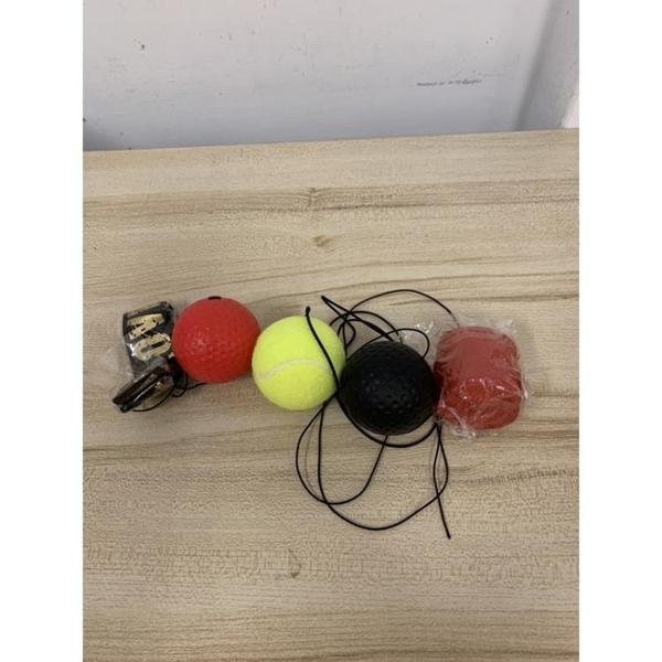 拳擊反應球發洩球回力球頭戴式拳擊彈力球速度球訓練球(777-8263)