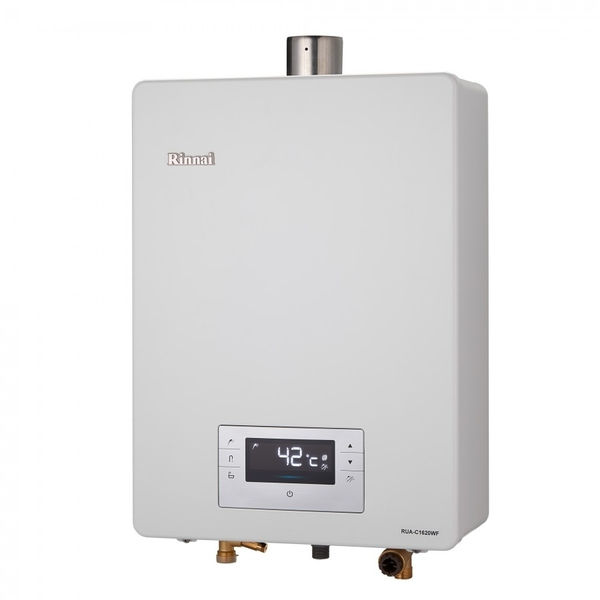 (修易生活館) Rinnai 林內 FE強制排氣式熱水器 RUA-C1620 WF 16L