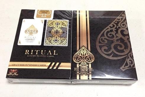 【USPCC撲克】Gold Ritual Playing Cards 金色禮儀撲克