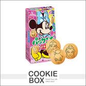 日本 森永 迪士尼 公主 卡通 草莓 夾心餅乾45g *餅乾盒子*