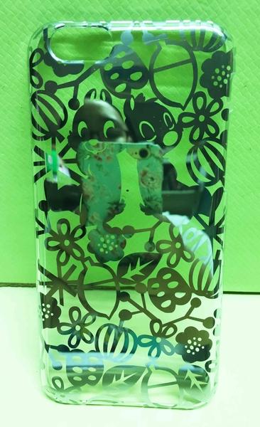 【震撼精品百貨】Chip N Dale_奇奇蒂蒂松鼠~IPHINE 6機背蓋-剪影銀