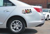 汽車車貼個性創意劃痕裝飾遮擋改裝車身貼3d立體貼紙防水機蓋拉花