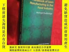 二手書博民逛書店Handbook罕見of Lean Manufacturing in the Food... ( 16開 ) 【詳