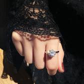 戒指 旋轉食指正韓時尚個性指環轉運珠小眾設計尾戒女