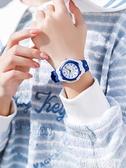 手錶兒童手錶男孩防水防摔男童小學生10歲12可愛女孩女童指針式石英表 非凡小鋪