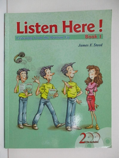 【書寶二手書T5/語言學習_ES4】Listen here! : listening from the bottom up. book 1