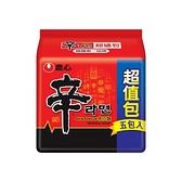 韓國 農心 辛拉麵(5入超值包)【小三美日】