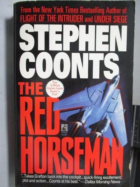 【書寶二手書T5/原文小說_ORE】The Red Horseman_Stephen Coonts