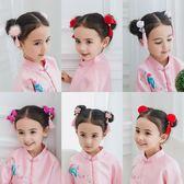 中國風流蘇髪夾子可愛兒童髪飾