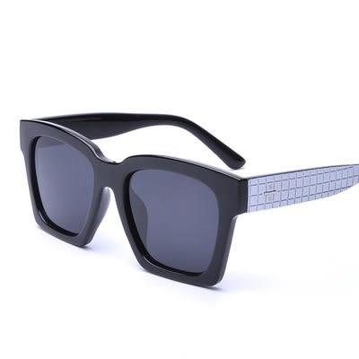 太陽眼鏡-偏光獨特造型方塊紋路男女墨鏡5色73en97【巴黎精品】
