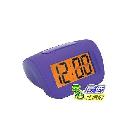 [103美國直購] 大數字鬧鐘 RadioShack Big-Digit Alarm Clock (Purple) 6300795 $1200