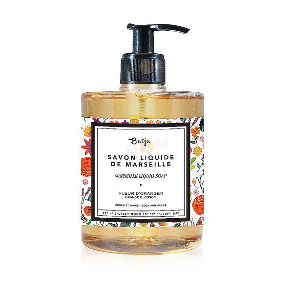 巴黎百嘉 西西里饗宴 古法液體馬賽皂 500ML 沐浴露 豔日橙花  BAJ0350010 Baija Paris