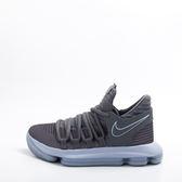 NIKE  籃球鞋 Zoom KD 10 GS 灰 紫 氣墊設計 運動鞋 女鞋 大童鞋 918365005
